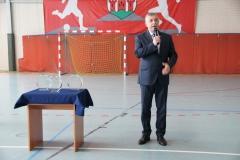 Mistrzostwa otwiera Burmistrz Miasta Łęczyca p. Krzysztof Lipiński.