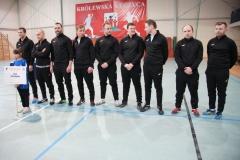 Brązowi medaliści V Mistrzostw Polski Okręgowych Izb Aptekarskich w Piłce Nożnej Halowej - reprezentacja OIA w Poznaniu.