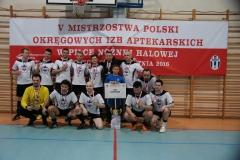 Wicemistrzowie Polski 2016 - reprezentacja OIA w Krakowie.