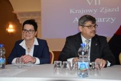 Kandydaci na funkcję prezesa NRA – mgr farm. Elżbieta Piotrowska-Rutkowska i dr n. farm. Marek Jędrzejczak