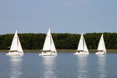 Na jeziorze.