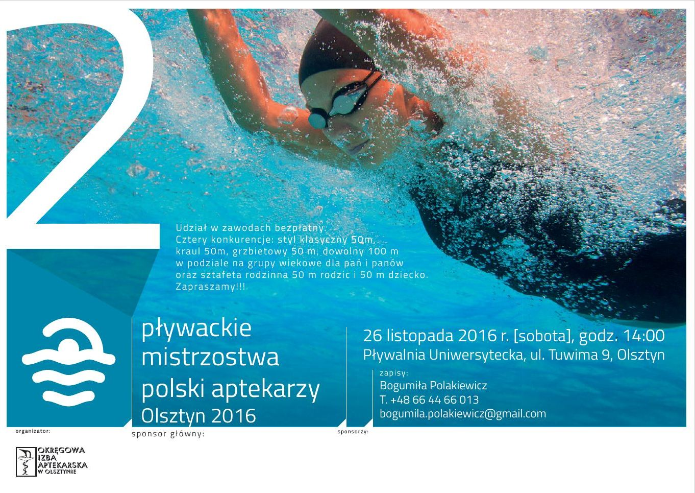 II Pływackie Mistrzostwa Polski Aptekarzy