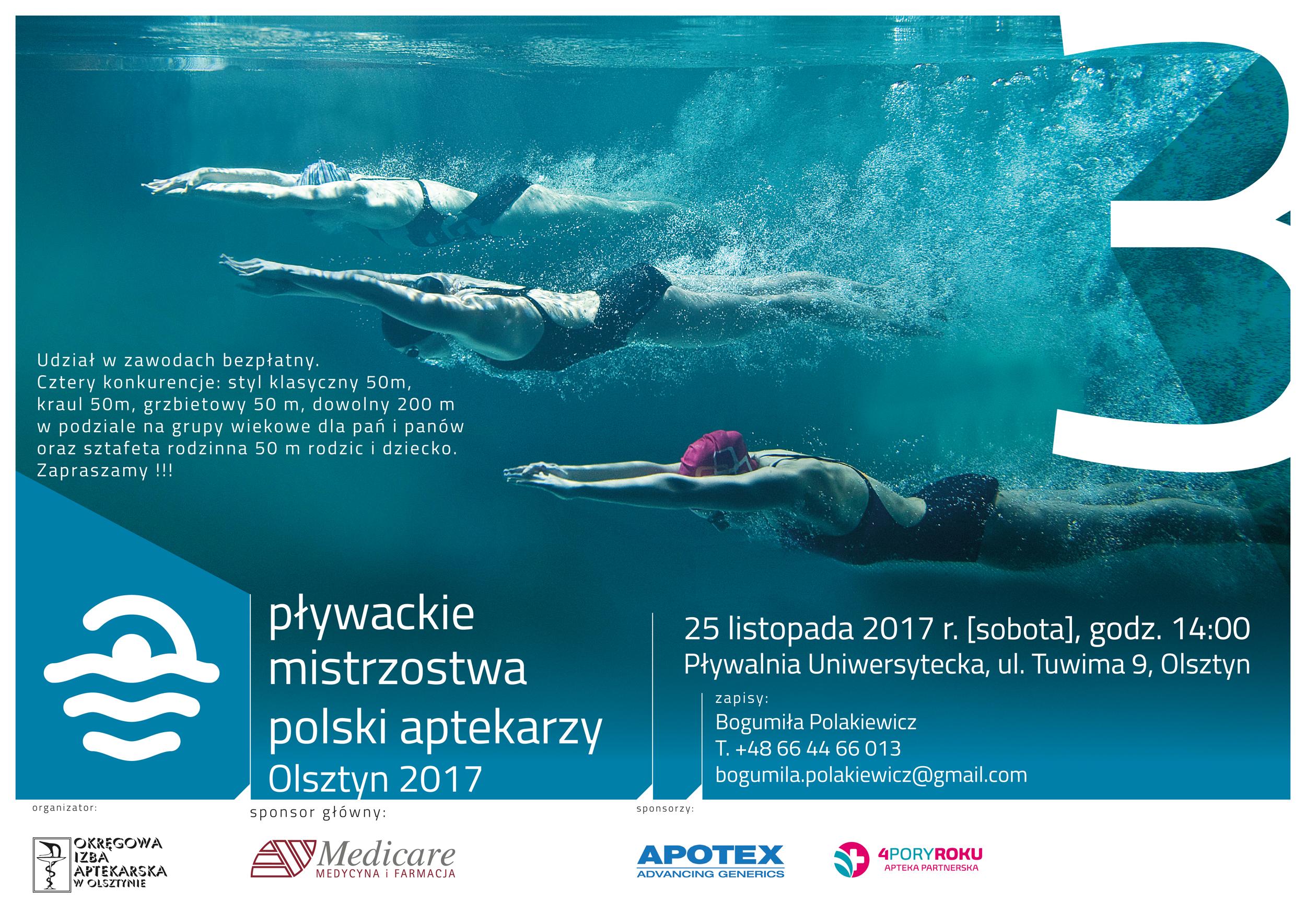 Pływackie Mistrzostwa Polski Aptekarzy