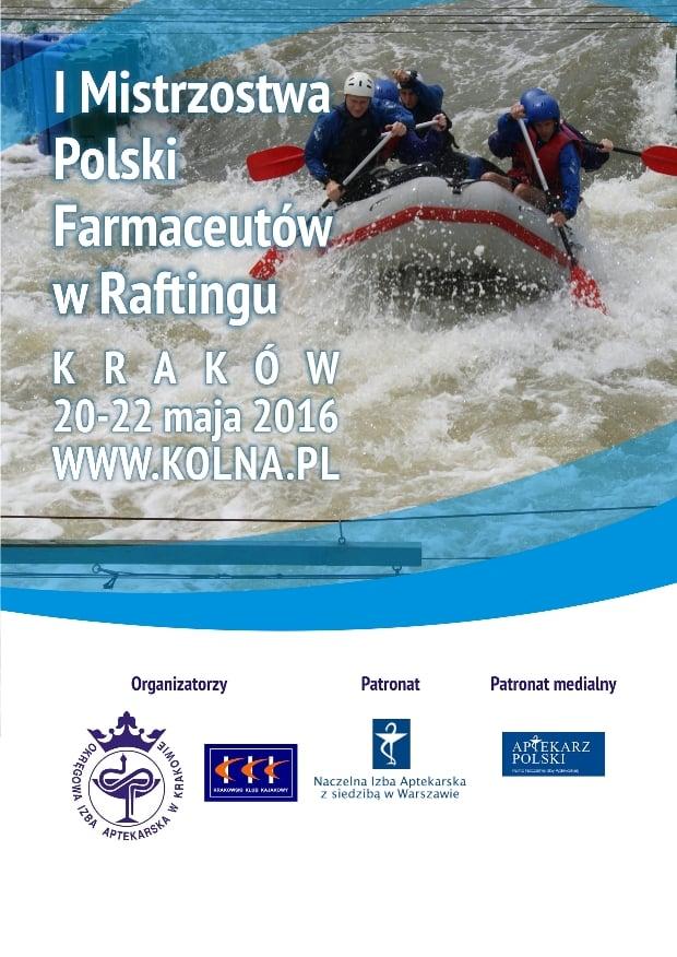Pierwsze Mistrzostwa Polski Farmaceutów w Raftingu