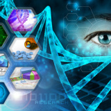 medical science and scientific research abstract background
