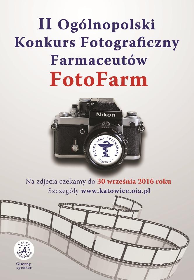 II Ogólnopolski Konkurs Fotograficzny Farmaceutów FotoFarm