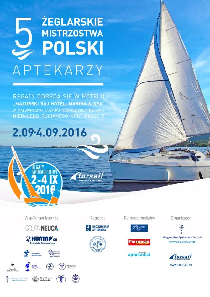 V Żeglarskie Mistrzostwa Polski Aptekarzy