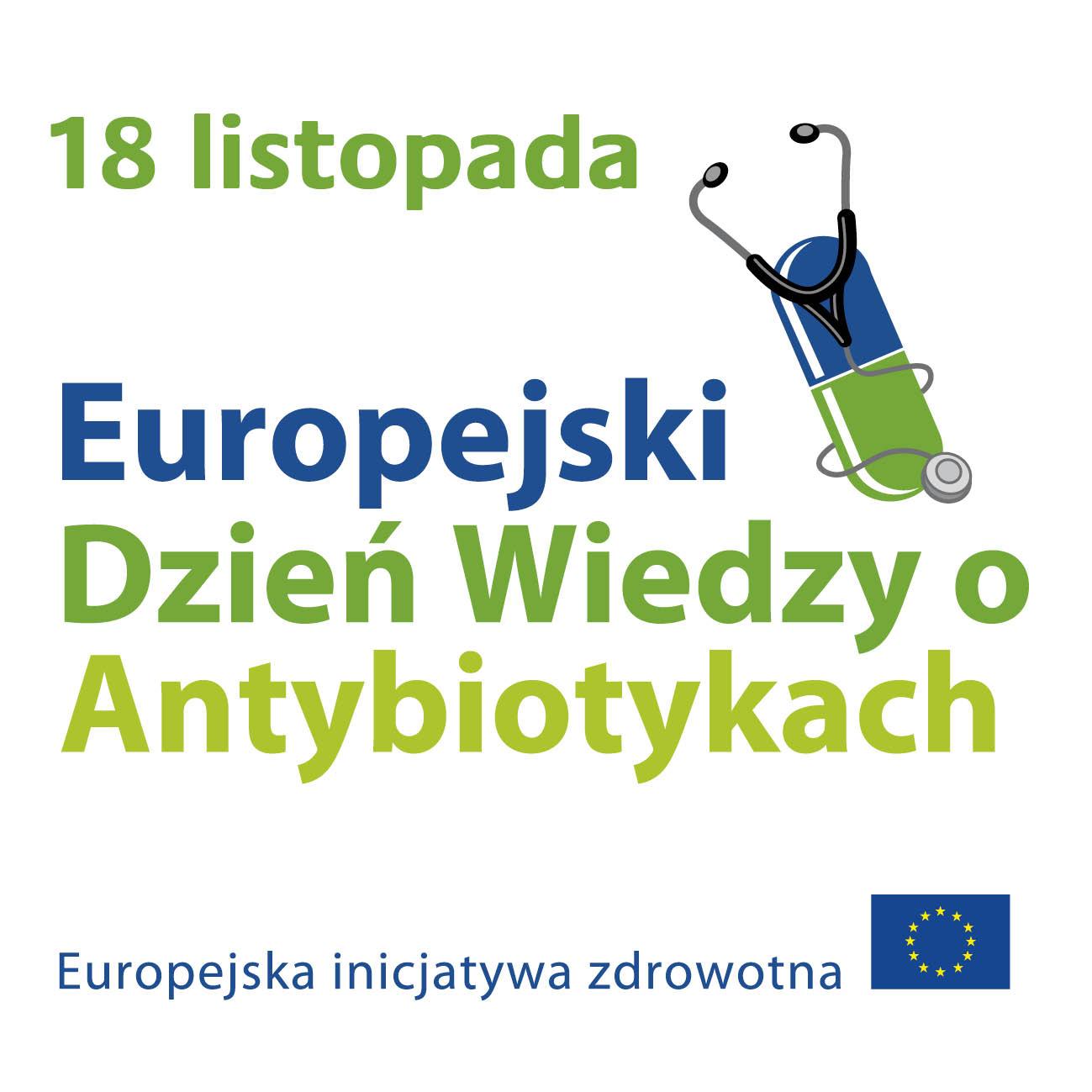 Europejski Dzień Wiedzy o Antybiotykach.