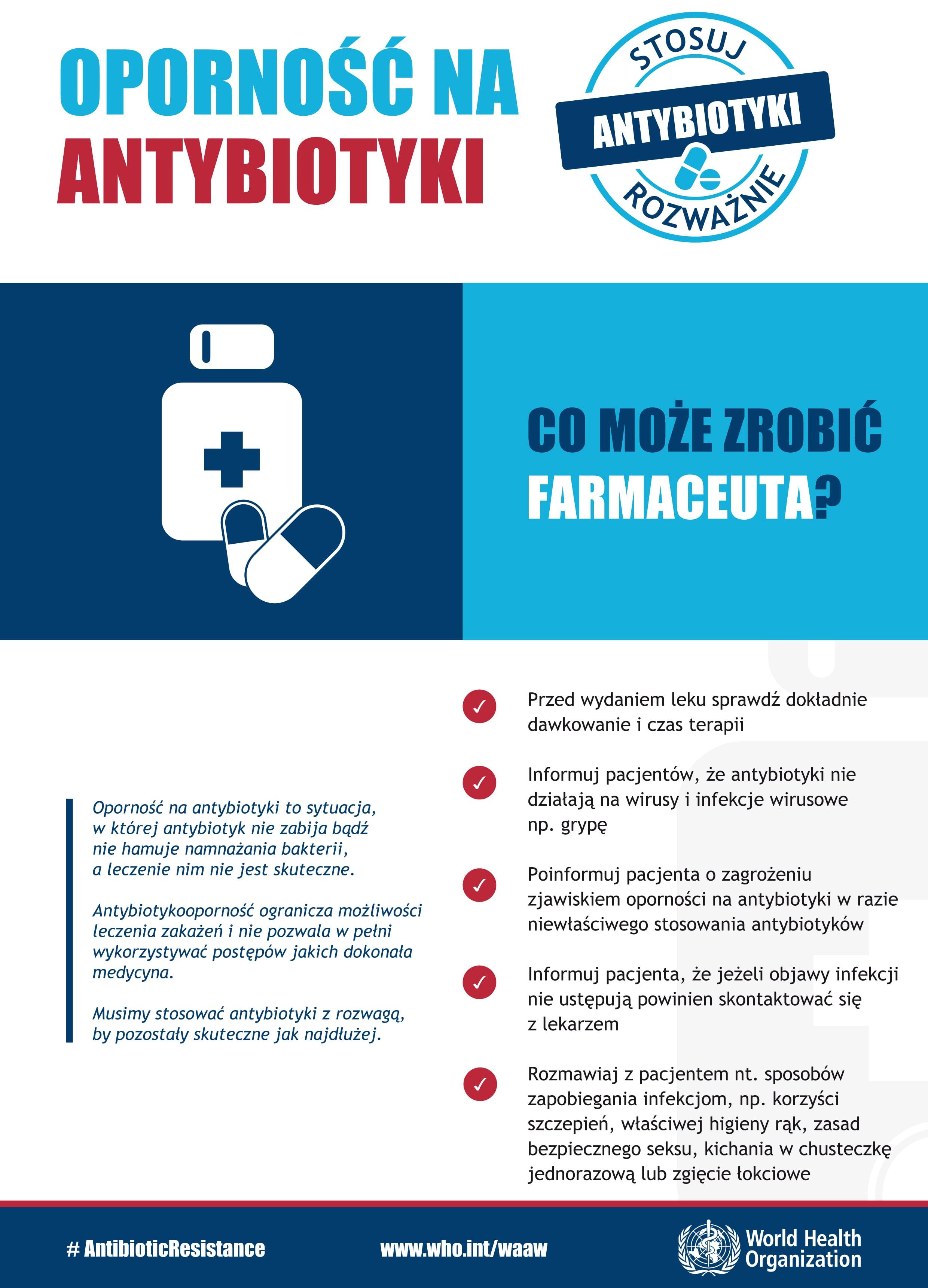 Antybiotyki – stosuj rozważnie.