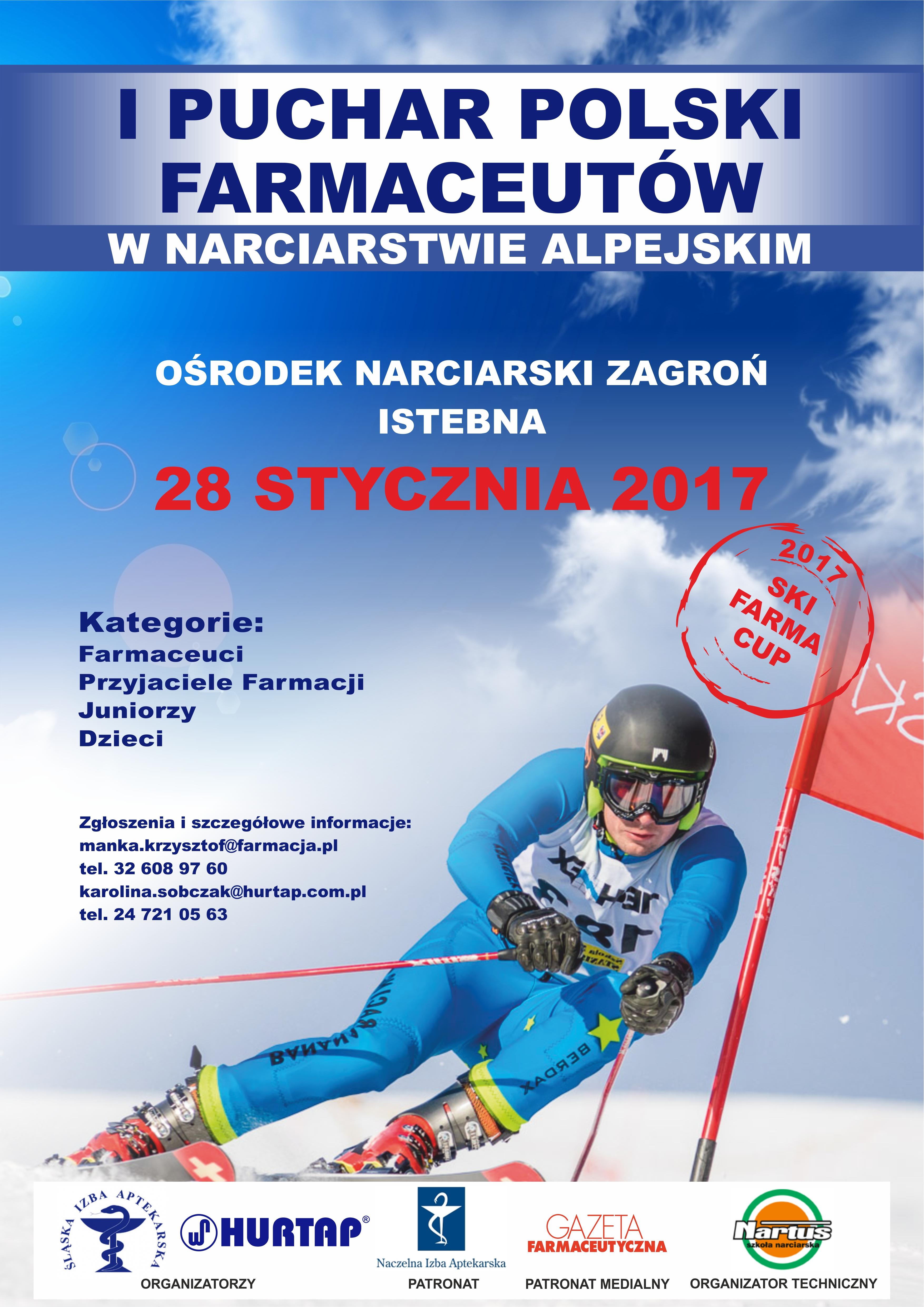 I Puchar Polski Farmaceutów w Narciarstwie Alpejskim.