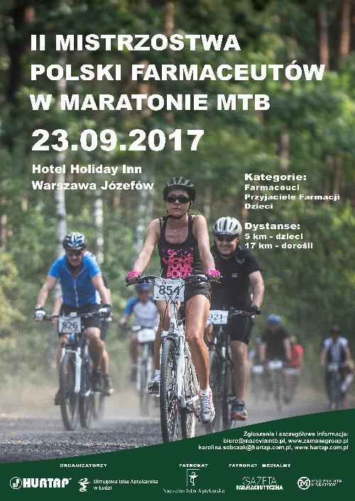 II Mistrzostwa Polski Farmaceutów w maratonie MTB