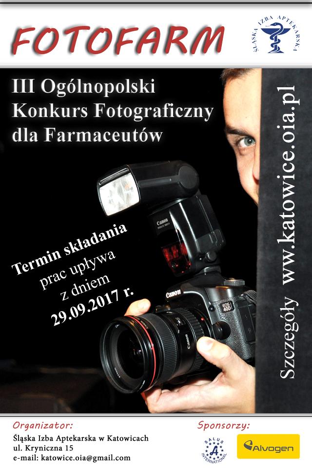III Ogólnopolski Konkurs Fotograficzny Farmaceutów – FotoFarm