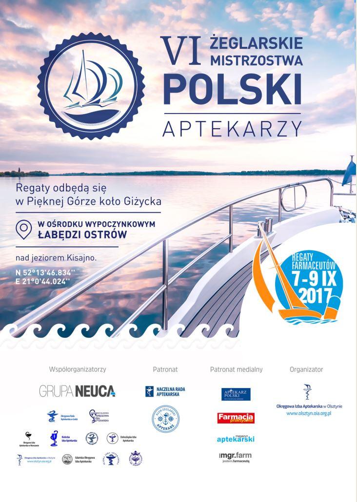 VI Żeglarskie Mistrzostwa Polski Aptekarzy