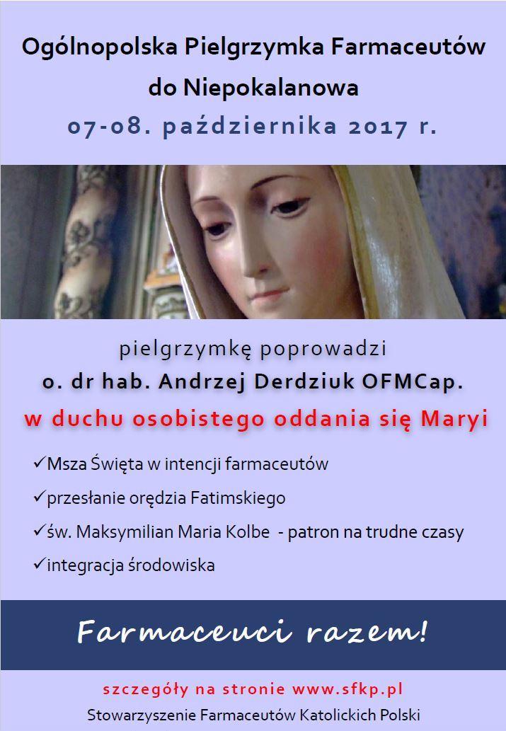 Ogólnopolska Pielgrzymka Farmaceutów do Niepokalanowa.