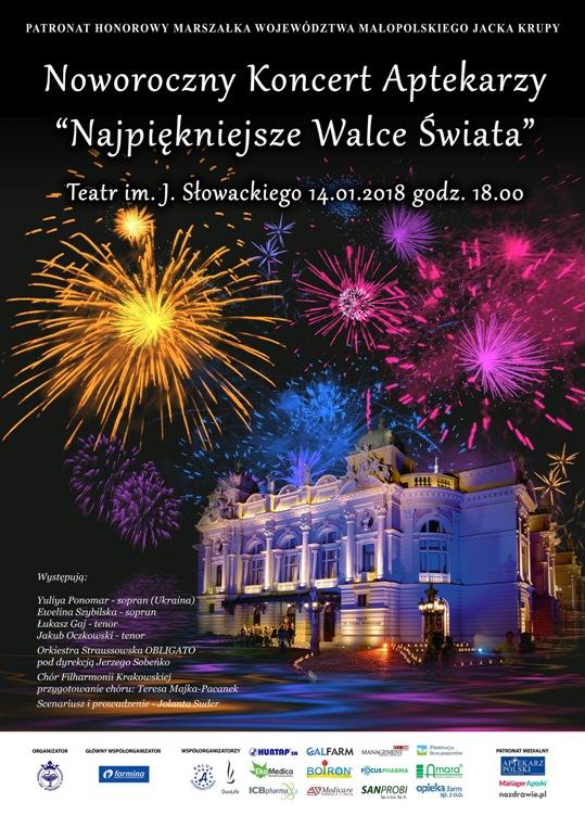 Noworoczny Koncert Aptekarzy. 14.01.2018.