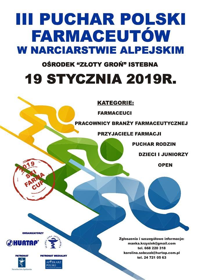 III Puchar Polski Farmaceutów w Narciarstwie Alpejskim.