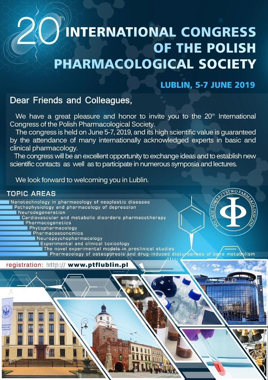 D. XX Międzynarodowy Kongres Polskiego Towarzystwa Farmakologicznego