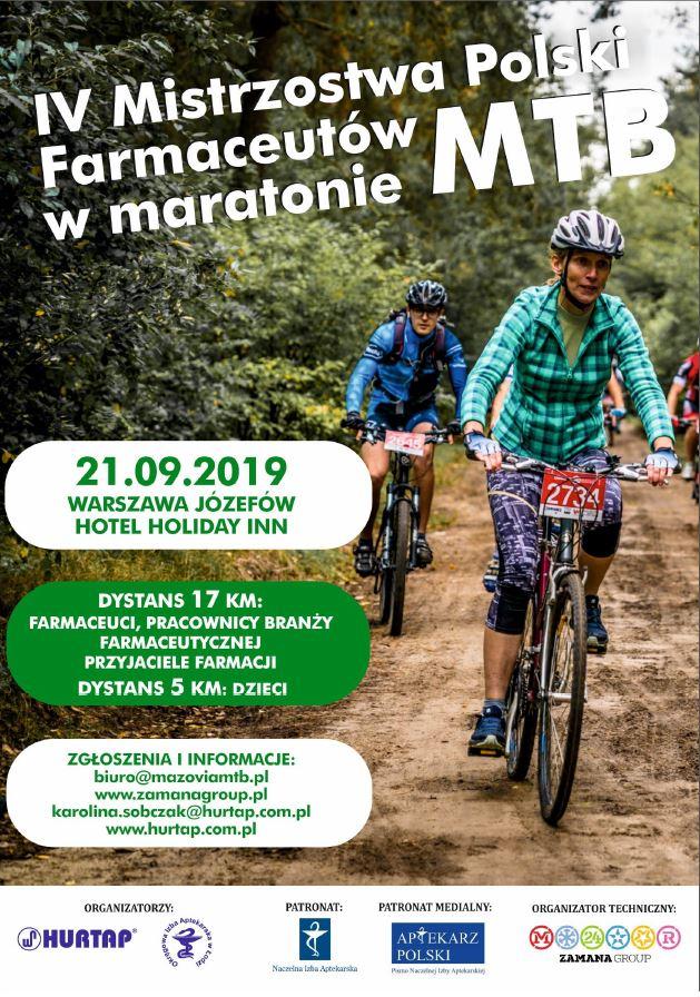 IV Mistrzostwa Polski Farmaceutów w maratonie MTB