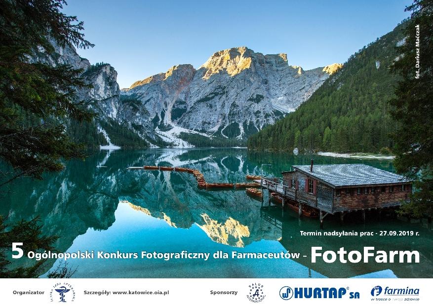 B. 5 Ogólnopolski Konkurs Fotograficzny dla Farmaceutów – FotoFarm
