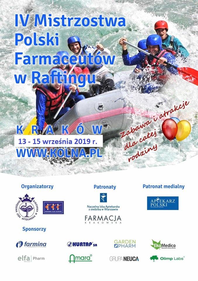 B. IV Mistrzostwa Polski Farmaceutów w Raftingu