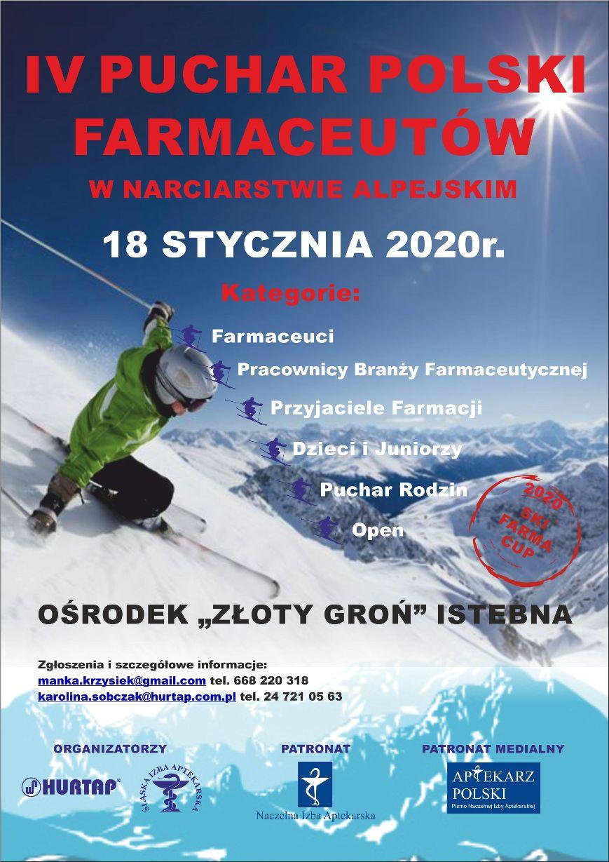 D. IV Puchar Polski Farmaceutów w Narciarstwie Alpejskim.